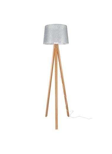 Modelight Modelight Deko Lambader Bambu Ayak / File Gri Şapka Renksiz